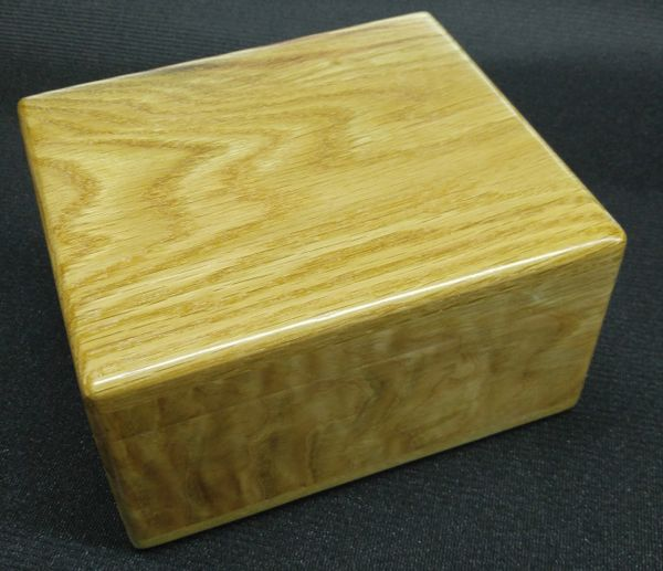WHITE OAK TREASURE BOX
