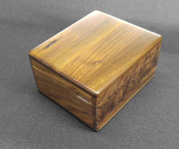 WALNUT TREASURE BOX