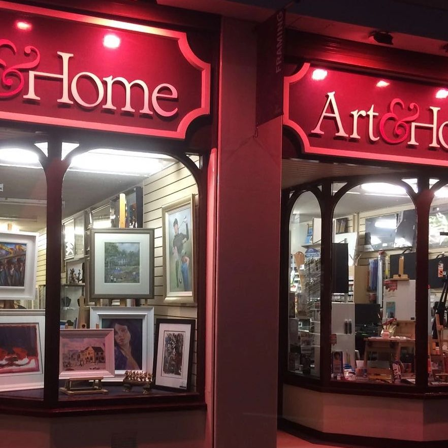 Exterior images of Art and Home Holywood Picture Framing Service Art Gallery and Art supplies
