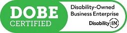 Certified Disability-Owned Business Enterprise (DOBE) logo