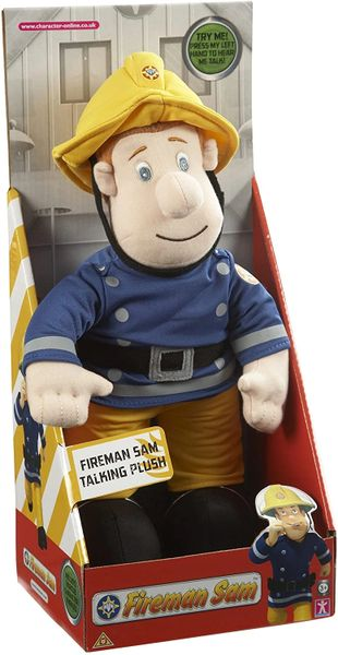 FIREMAN SAM ...TALKING PLUSH