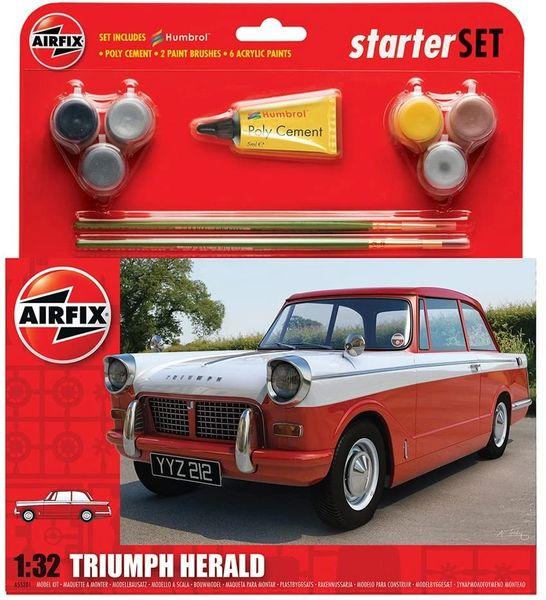 AIRFIX .....TRIUMPH HERALD ...Starter Set