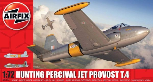 AIRFIX .....HUNTING PERCIVAL JET PROVOST T.4