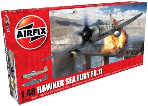 AIRFIX 1:48 Scale....HAWKER SEA FURY FB.11