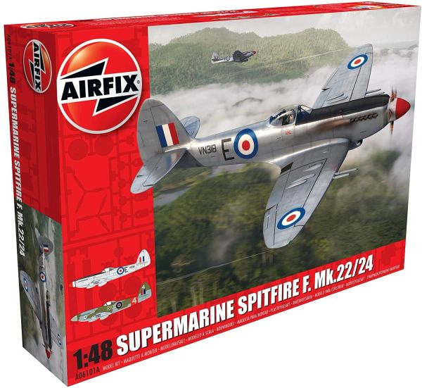AIRFIX 1:48 Scale...SUPERMARINE SPITFIRE F.MK.22/24