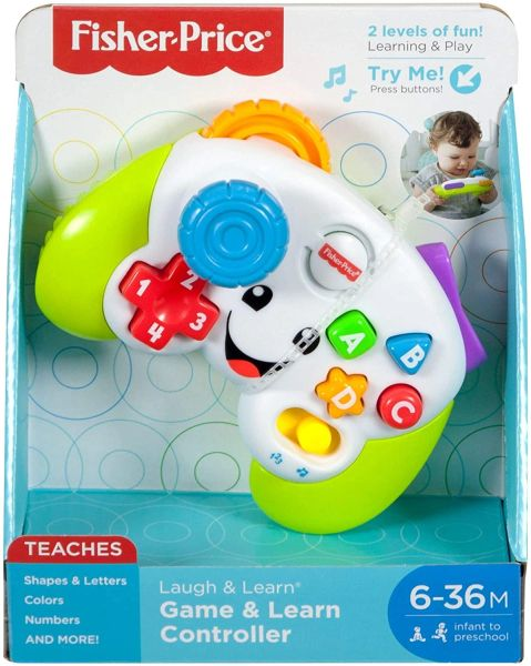 FISHER PRICE...... GAME & LEARN CONTROLLER