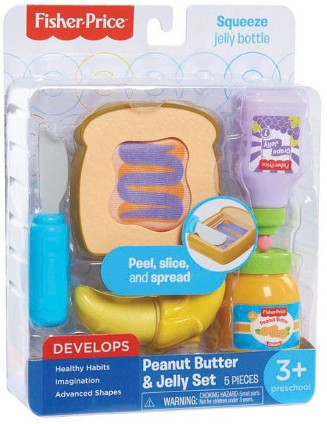FISHER PRICE .....PEANUT BUTTER & JELLY SANDWICHES