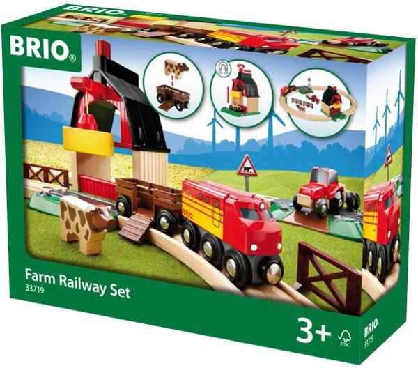 BRIO 33719....FARM RAILWAY SET