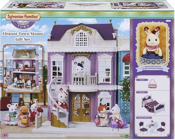 SYLVANIAN 5391 ELEGANT TOWN MANOR gift set