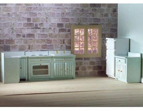 DOLLS HOUSE EMPORIUM .... 5 Pce FITTED KITCHEN 1/12th scale