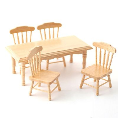 Pine Kitchen Table 4 Chairs by Streets Ahead