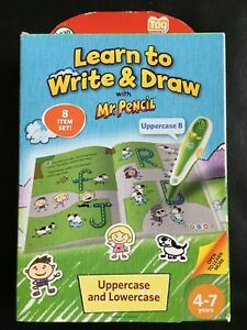 LEAP FROG ....Tag Learn to Write and Draw with mr Pencil