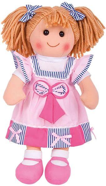 """Bigjigs Toys Georgie 38cm Doll (15"""") - Ragdoll Cuddly Toy"""