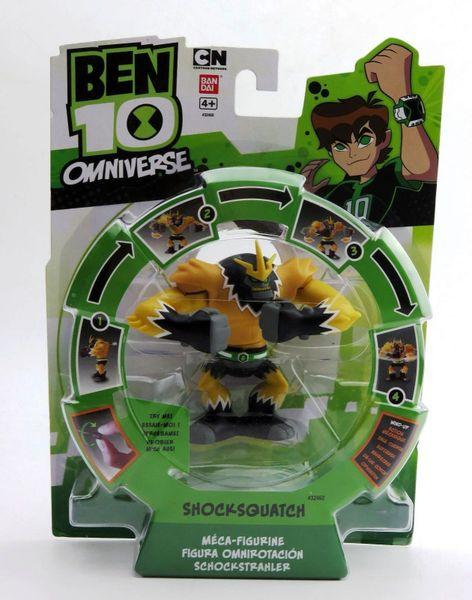 Ben 10 Omniverse Wind up Shocksquatch Action Figure