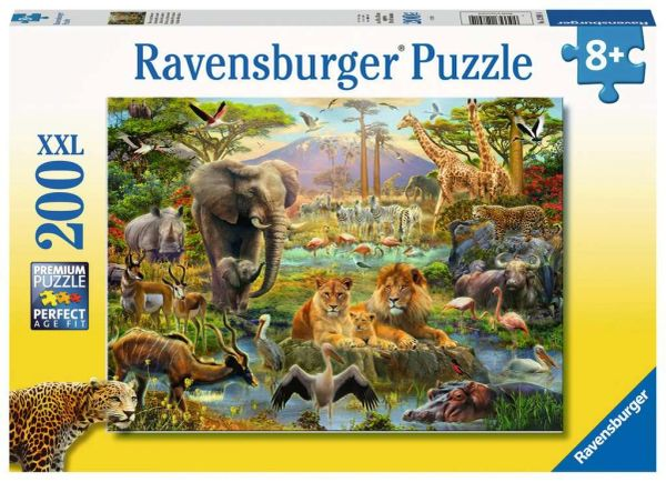 Animals of the Savanna XXL 200pc Children's Puzzles