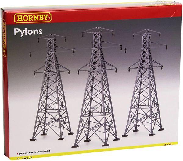 Hornby R530 00 Gauge Pylon Kit