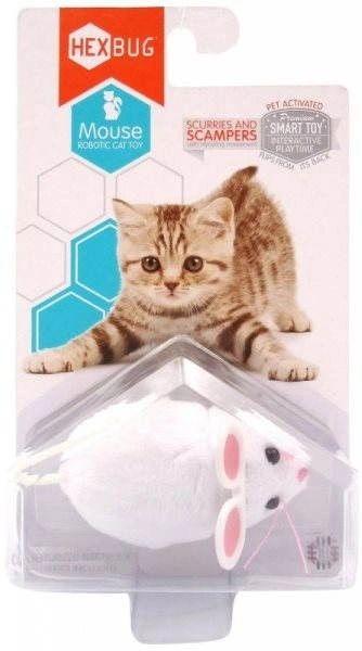 Hexbug - White Robotic Mouse