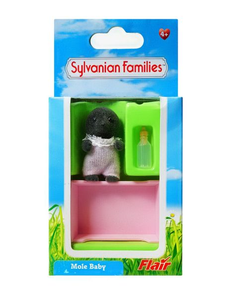 Rarest of Rare .......Sylvanian Families McBurrows Mole Baby Molly