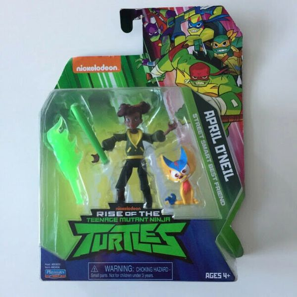"""April O'Neil Teenage Mutant Ninja Turtles Action Figure Toy 4.5"""""""