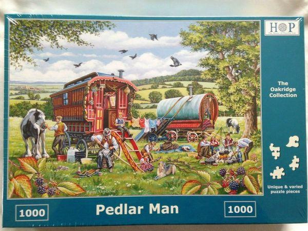 Brand New House of Puzzles 1000 Piece Jigsaw Puzzle - PEDLAR MAN