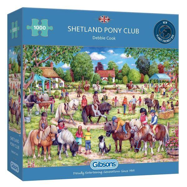 Gibsons 1000 pce Shetland Pony Club