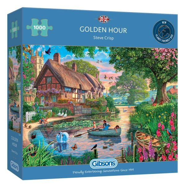 Gibsons 1000 pce Puzzle Golden Hour by Steve Crisp