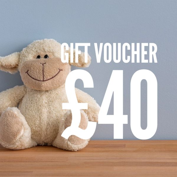 £40 Gift Voucher - use in-store or online