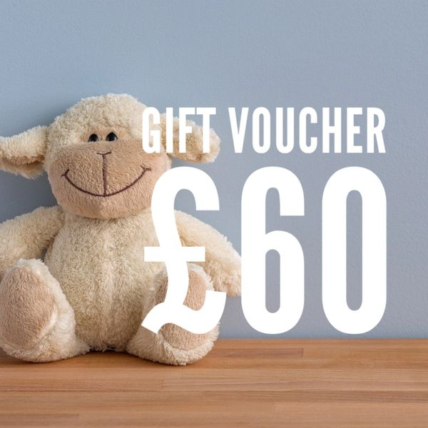 £60 Gift Voucher - use in-store or online