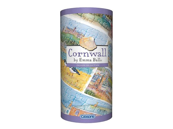 Cornwall Gibsons 250pc Jigsaw puzzles in a tube