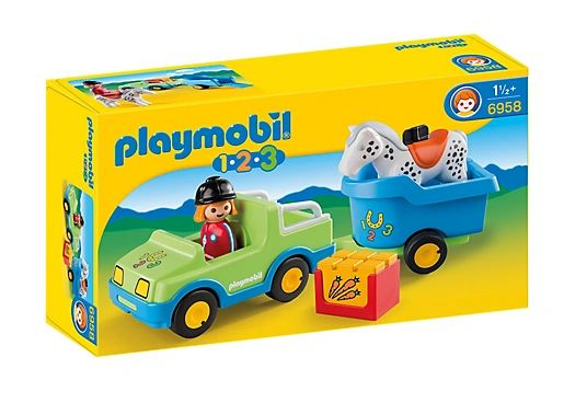 Car with Horse Trailer by Playmobil