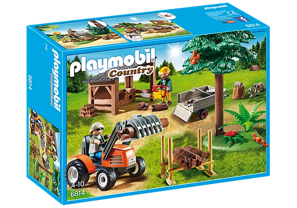 Lumber Yard with Tractor Product No.: 6814