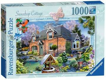 Country Cottage Collection - Snowdrop Cottage, 1000pc
