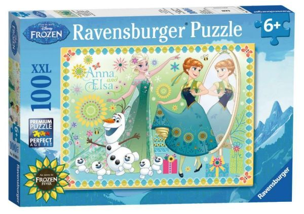 Disney Frozen Fever XXL 100 Piece Childrens Jigsaw Puzzle