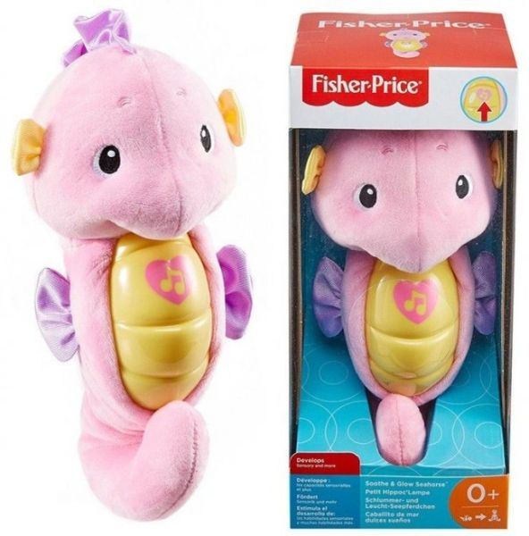 FISHER PRICE INFANT SOOTHE & GLOW SEAHORSE