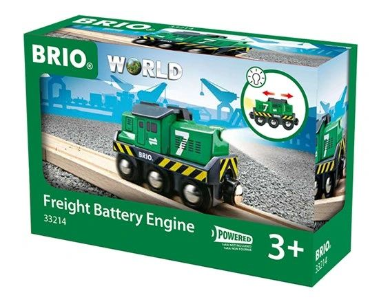 Battery Powered Freight Engine