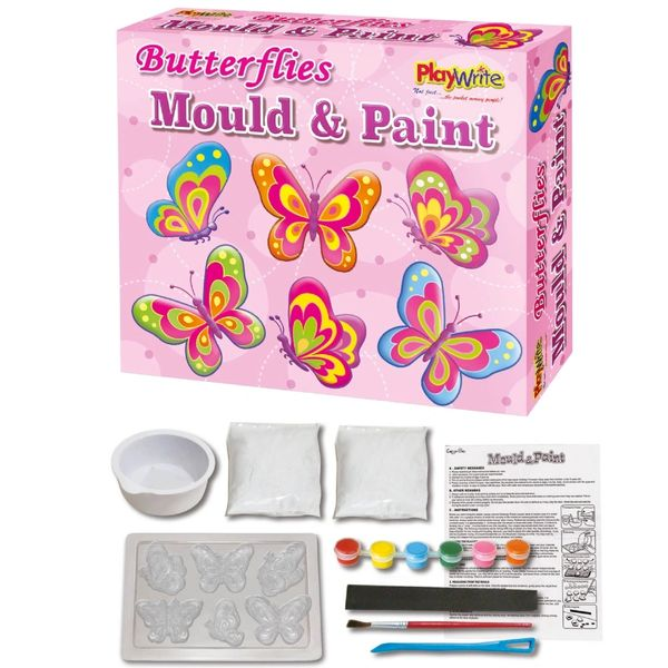 BUTTERFLY MOULD AND PAINT by playwrite