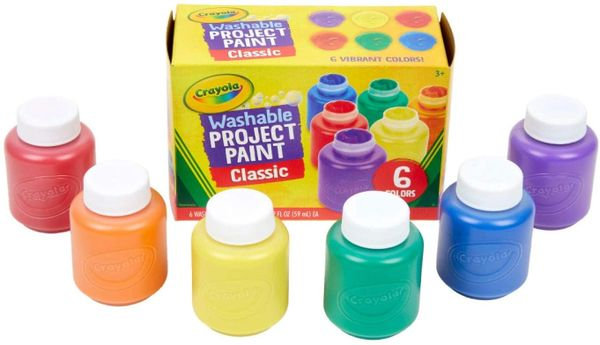 CRAYOLA PROJECT PAINT CLASSIC vibrant colors