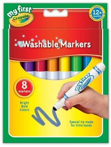CRAYOLA ..WASHABLE MARKERS