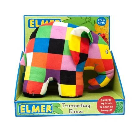 ELMER ....THE TRUMPETING ELEPHANT