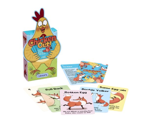 GIBSONS ....Chicken Out Card Game