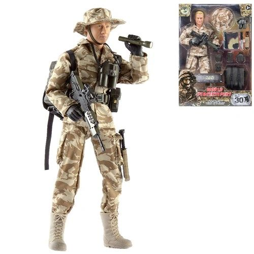 WORLD PEACEKEEPERS......S.A.S SOLDIER 1:6 scale