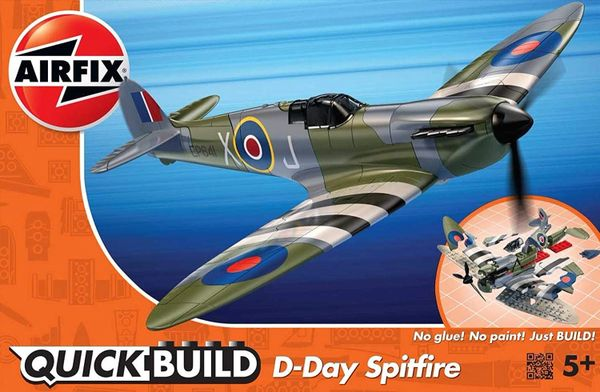 AIRFIX ...QUICKBUILD D-Day SPITFIRE
