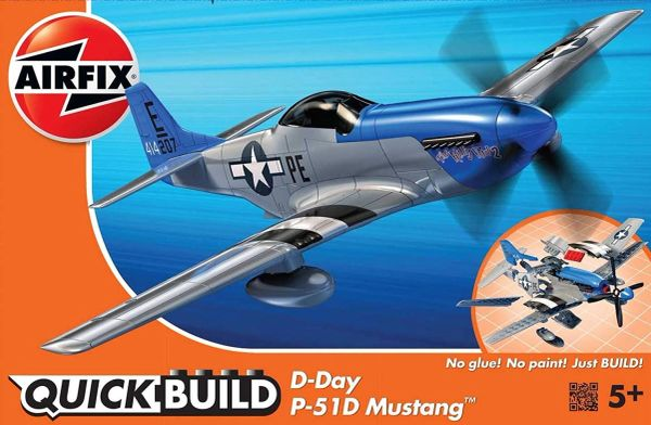 AIRFIX QUICKBUILD... D-DAY P-51D MUSTANG