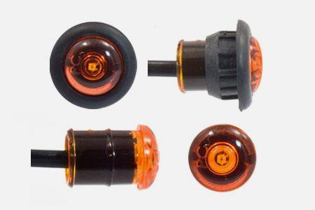 Amber Bullet Light
