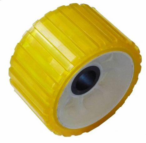 "Wobble Roller 5"" Yellow"