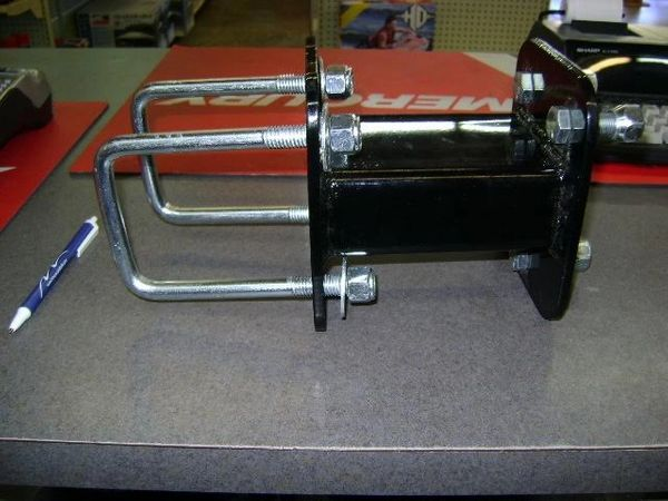 Spare Tire Carrier Black