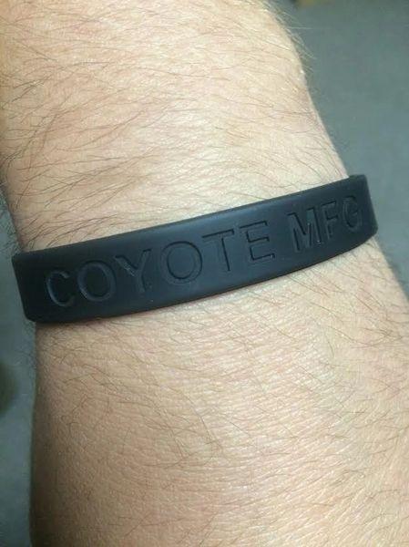 Coyote MFG Co Silicone Wrist Band
