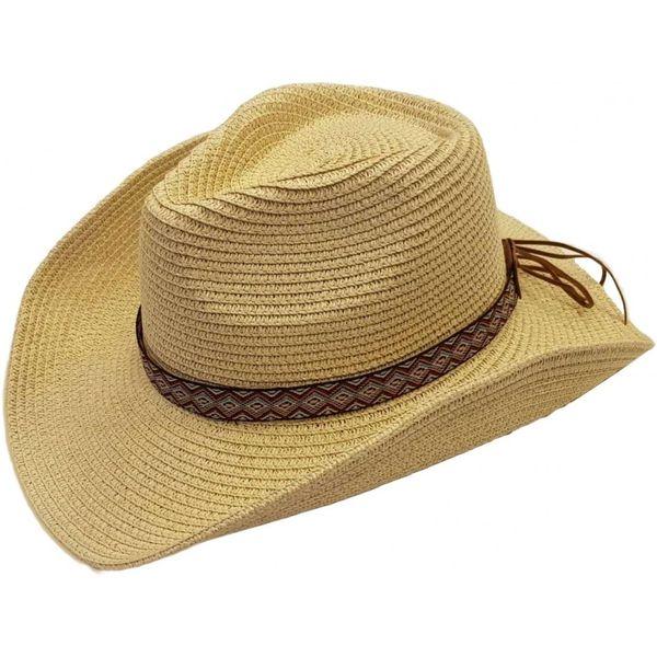 Western Cowboy hoed in Duurzaam Stro