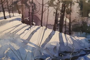 Rails End Gallery Shop - Award winning watercolours by one of Haliburton's most admired watercolourists - Gord Jones.