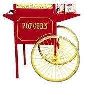 Popcorn Popper Cart